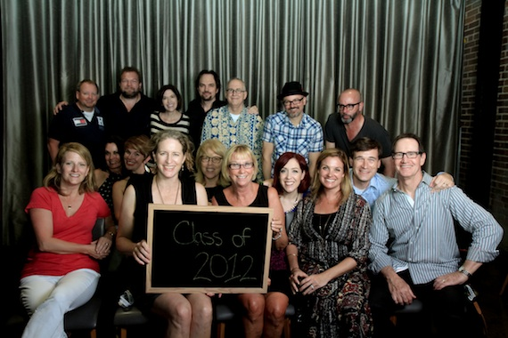 Members of Leadership Music's Class of 2012. Photo: Bev Moser, Moments By Moser