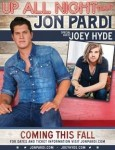 Jon Pardi Reveals 20-City 'Up All Night Tour'