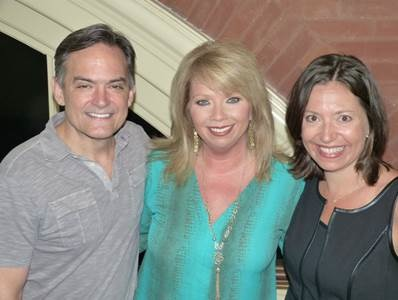 Pictured (L-R): Mike Craft, Diane Pearson, Sally Williams.