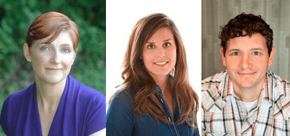 (L-R): Elissa Newland, Carissa Riccardi, Jim Casey