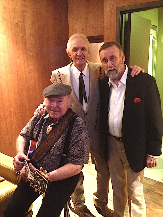 Pictured (L-R): Roy Clark, Mel Tillis, Ray Stevens