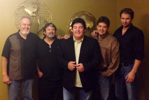 Pictured (L-R): Bobby Roberts (The Agency Group), Mike McGuire, Marty Raybon, Travis James (The Agency Group), Don Murry Grubbs (Absolute Publicity)