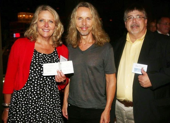 Pictured (L-R): Tinti Moffat, Tommy Shaw, Ben Jumper. Photo: Randi Radcliffe