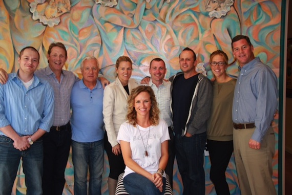 >     Noah McPike (BMI), Clay Bradley (BMI), Doug Nichols, Leslie Roberts (BMI), Jim Landers, Chris Alderman, Penny Everhard (BMI), Mark Mason (BMI). Front: Kristen Kelly