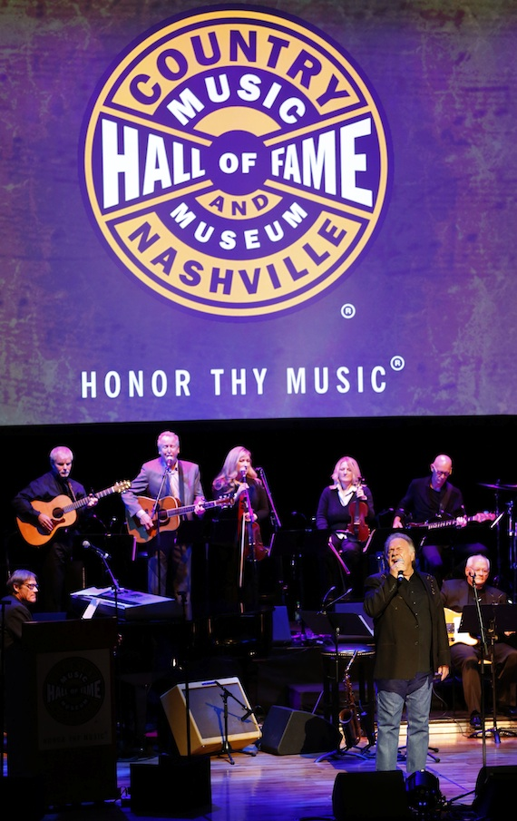 Gene Watson performs at the 2014 Country Music Hall of Fame Induction Ceremony. Photo: Donn Jones