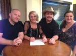 Gwen Sebastian Signs Booking Agreement with Artist Events
