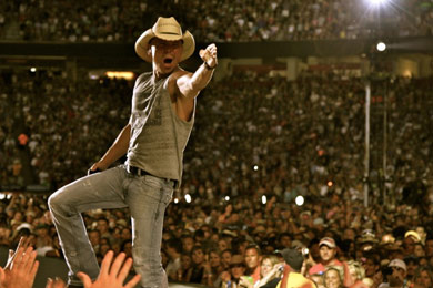 Kenny Chesney. Photo: Jill Trunnell