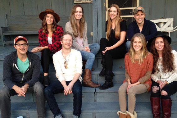 Pictured (L-R, bottom): Ben Cooper, Gavin Slate, Melissa Fuller, Hannah Blaylock, top row left to right, Jillian Jacqueline, Kat Higgins, Kellys Collins and Andy Albert.