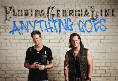 Weekly Register: FGL's 'Anything Goes' Debuts At No. 1