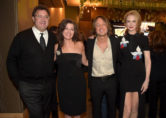 Pictured (L-R0: Vince Gill, Amy Grant, Keith Urban, and Nicole Kidman. Photo: Rick Diamond/Getty Images for BMI