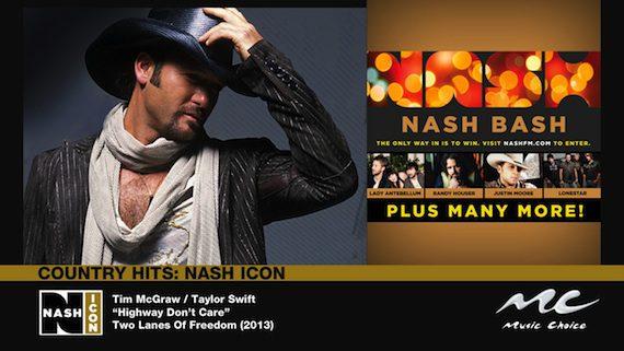 NASH Icon music choice