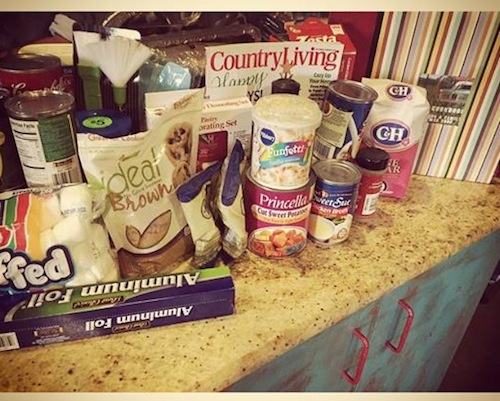 Miranda Lambert's Thanksgiving must-haves.
