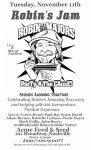 Star Studded Benefit Concert for Robin Majors Tonight in Nashville