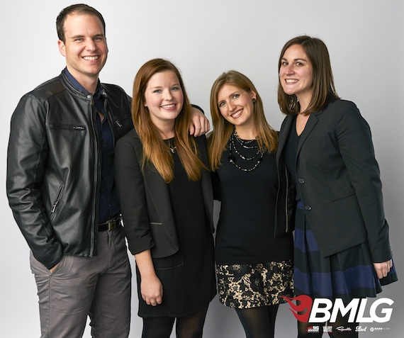 Pictured (L-R): Jake Basden, Katie Rose, Erin D. D. Burr and Charlotte Burke. Photo: Larry Busacca/Getty Images
