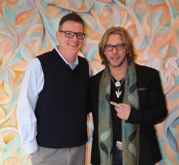 Pictured (L-R): BMI's Perry Howard and BMI songwriter Craig Wayne Boyd