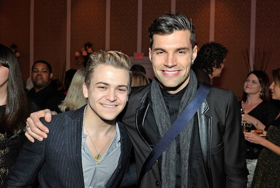 Pictured (L-R): Nominees Hunter Hayes and Joel Smallbone of for King & Country.