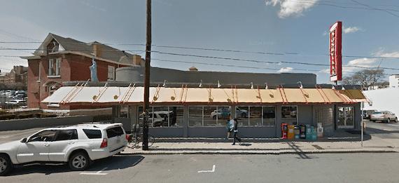 Screen Shot of noshville and manuel buildings google maps