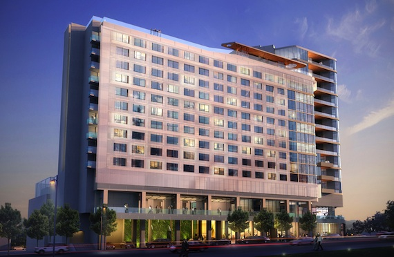 Virgin Hotels Nashville rendering