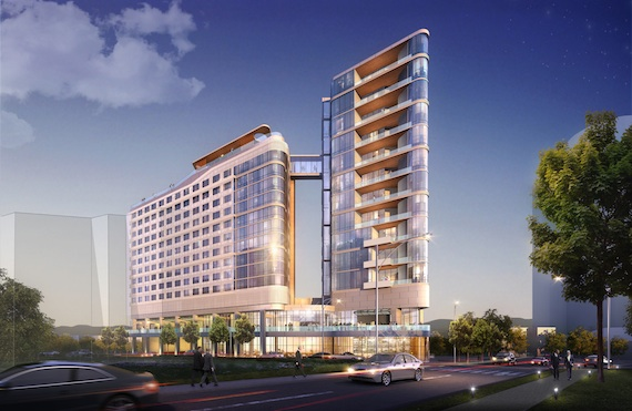 Virgin Hotels Nashville rendering
