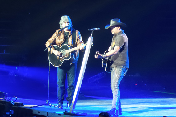 Alabama's Randy Owen and Aldean