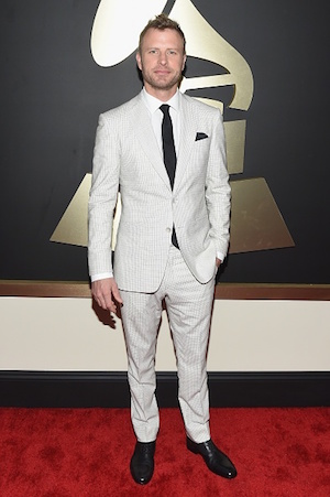 Dierks Bentley on the Grammys red carpet. Photo: Grammy.com