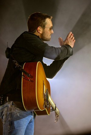 Eric Church. Photo: Jill Trunnell