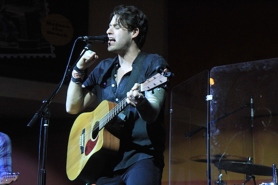 Austin Webb performs at the 2015 MusicRow CountryBreakout Awards. Photo Bev Moser/Moments By Moser