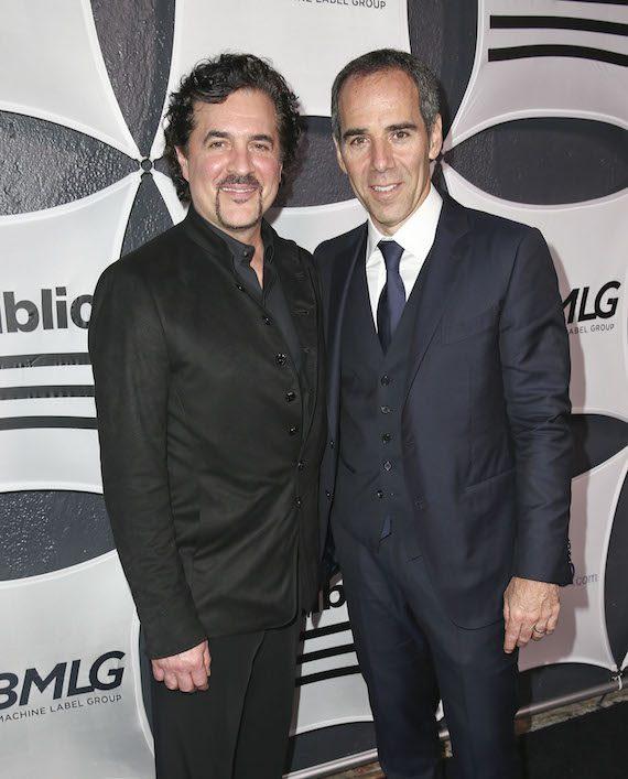 Pictured (L-R): Big Machine President/CEO Scott Borchetta and Republic Records Founder/CEO Monte Lipman. Photo: Imeh Akpanudosen/Getty Images