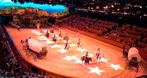 Opening weekend after The Dixie Stampede's $2.5 million renovation.