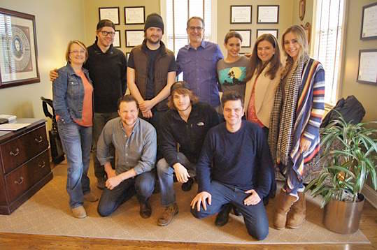 Back row: Kim Wiggins (Sr. Creative Director), Kenny Fleetwood, Andrew Simple, Craig Currier (VP/Director Ad Markets), Rachel Farley, Heather Cook (Creative Manager Ad Markets), Danelle Leverett Front row: Michael Logen, Michael Tyler, Adam Argyle Not photographed: Jaron Boyer, Jennifer Hanson