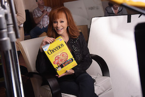 Reba McEntire Behind-The-Scenes At Production Day