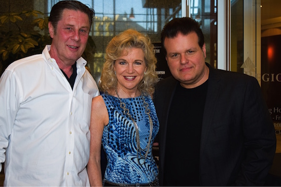 Pictured (L-R): Bart Herbison, NSAI; Lisa Harless, Regions Bank, songwriter Bobby Tomberlin