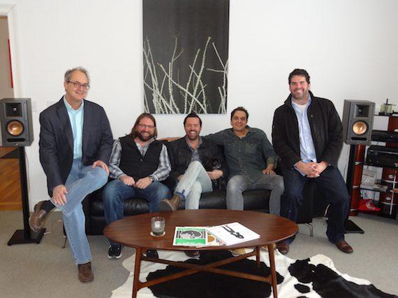 Pictured (L-R): Dale Bobo, Chip Petree, Brad Tursi, Pete Robinson, Greg Gallo