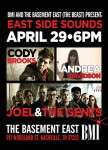 BMI's Basement East Showcase Series To Highlight Indie Writers