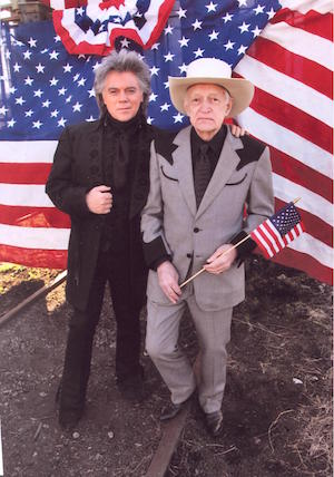 Marty Stuart and father John Stuart