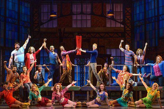 "The original cast of ""Kinky Boots."" Photo: Facebook.com/KinkyBootsBway"