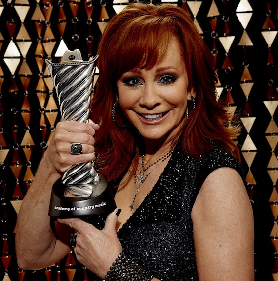 reba with her ACM 2015