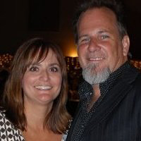 Angie Crabtree Reynolds (L) Robert Reynolds. Photo: Facebook