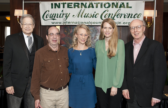 Pictured (L-R): James Akenson, Barry Mazor, Jewly Hight, Bevel Dunkerley (Senior Editor, Rolling Stone Country) and Don Cusic.