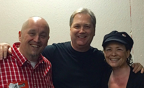 Pictured (L-R): Scott Gaines, Steve Wariner, and Linda Flores.