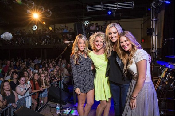 The newest additions to the Next Women of Country, Brooke Eden, Cam, Clare Dunn and Ruthie Collins.