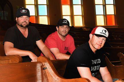 The Peach Pickers, L-R: Dallas Davidson, Rhett Akins, Ben Hayslip