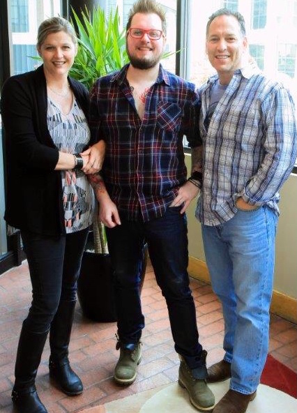 SESAC's Shannan Hatch, Adam Searan and Demolition Music Publishing's Jon D'Agostino