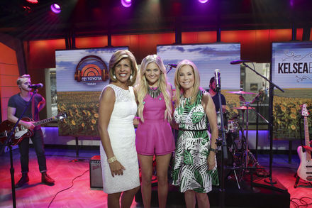 TODAY's Hoda Kotb and Kathie Lee Gifford with Kelsea Ballerini