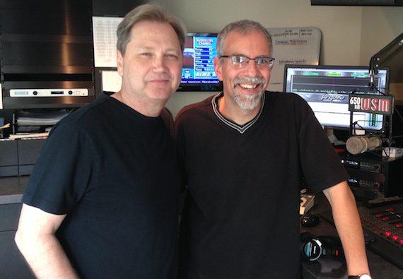 Pictured (L-R): Steve Wariner and Charlie Mattos