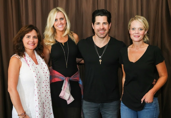 Lorie Lytle, ACM Lifting Lives Board Member and Music Camp Founder; Hannah Martin, Manager, ACM Lifting Lives; JT Hodges; Tiffany Moon, ACM EVP/Managing Director