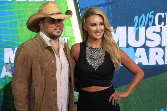 Pictured (L-R): Jason Aldean, Brittney Kerr. Photo: Bev Moser.