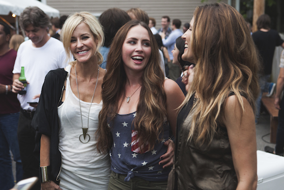 Pictured (L to R): Martie Mcquire, Hannah Blaylock and Emily Robison