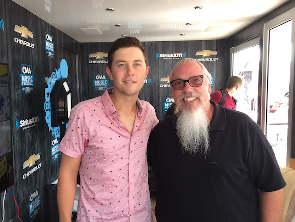 Pictured (L-R):  Scotty McCreery, John Marks