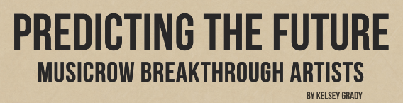 breakthrough artists header